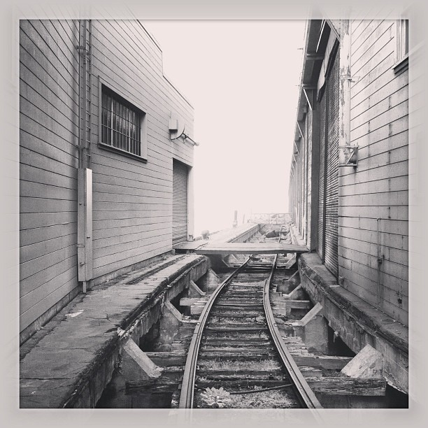 Railroad to nowhere. #latergram #sanfrancisco