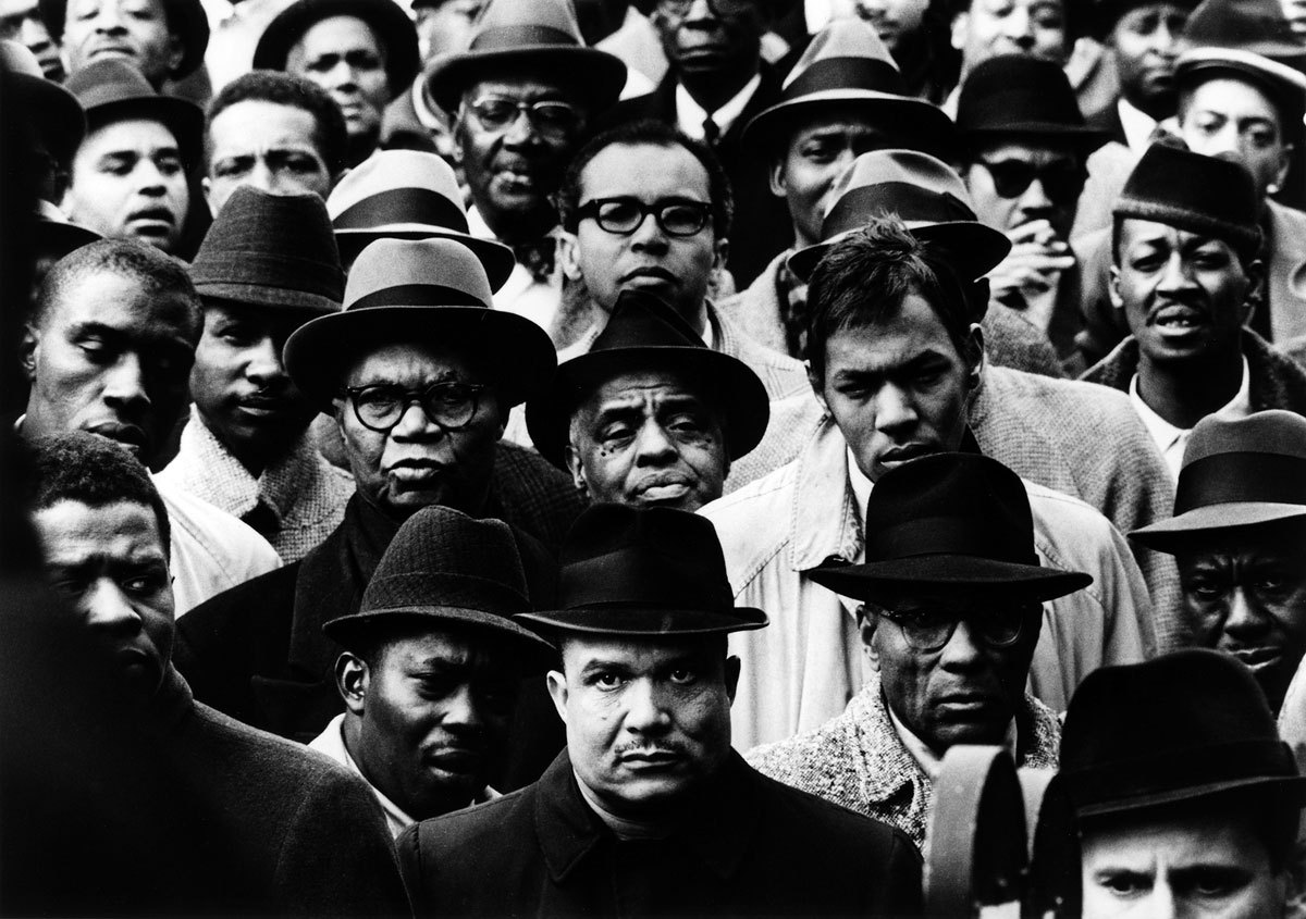 Gordon Parks, Black Muslim Rally, 1963