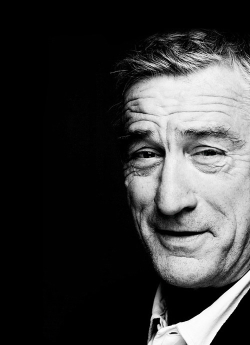 jolieing:  Robert De Niro by Nigel Parry