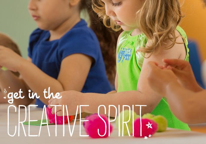 Get In The Creative Spirit