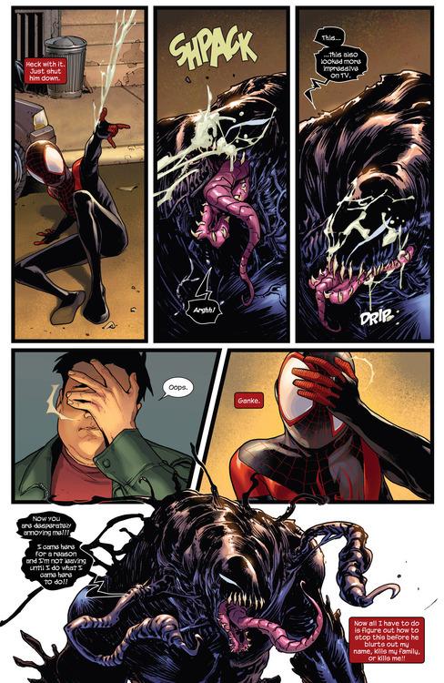 Crooked Thinking | towritecomicsonherarms: Ultimate venom ...