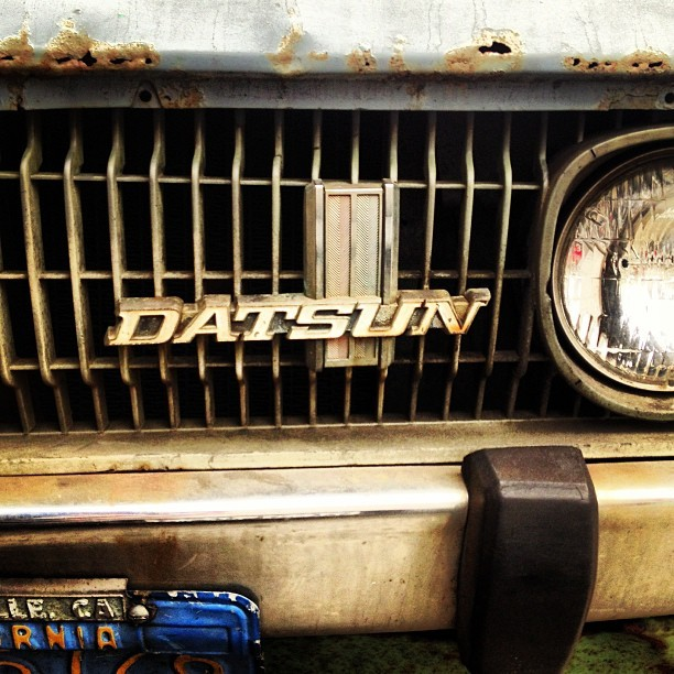 ceonyc:  There's a name you don't see around anymore… #datsun