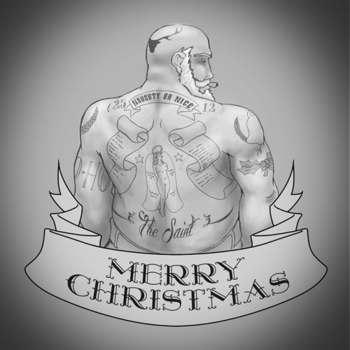 This years Christmas card design.  Merry Christmas followers :)