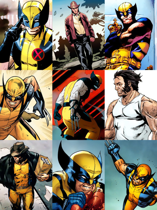 snikette:  Wolverine  Jackie's Endless List of Favorite Characters