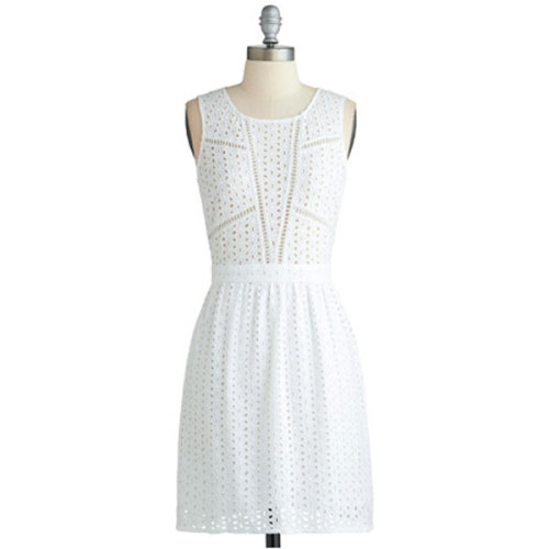 teenvogue:  Searching for a LWD (little white dress!) for graduation? We found 16 crisp and classic options »