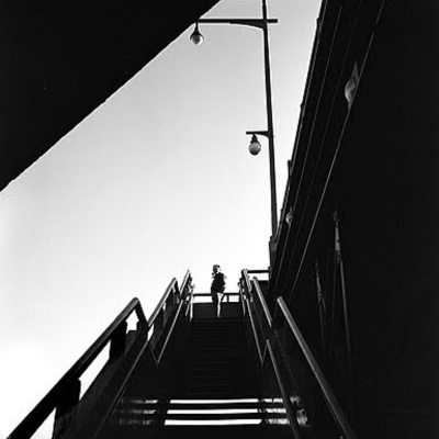 Untitled, (Chicago L), 1988, Chicago. Vivian Maier