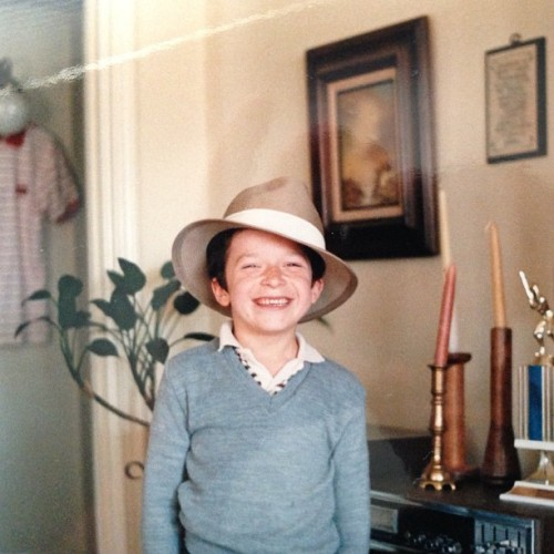 Finally found a picture worthy of a Throwback Thursday post. Like my fedora?