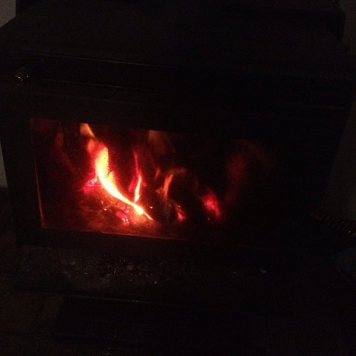 Best part about winter is firing this up.