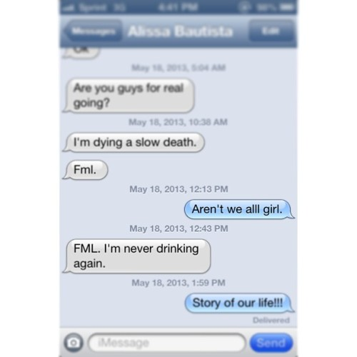 Our regular Saturday convo! @alissabby