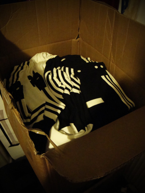 Black Altar Apparel: Ouija Restock.Here's a big box full of Ouija Board jackets, It's taking over our storage space, so buy one! This could be your last chance to grab one with our biggest restock to date and we are already running low on size small!B.A.Ahttp://www.blackaltarapparel.com/
