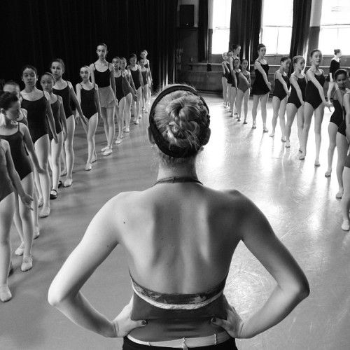 Dancers at Marin Ballet rehearse for a show celebrating the dance school's 50th anniversary.