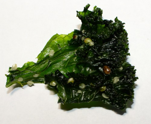 I made some vegan kale chips with a Lady Bug :P