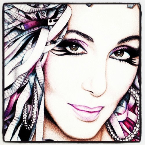 #loveart#womansworld#cher#followthisyoubitches