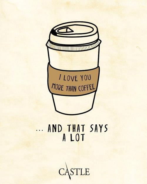 thylucentnectar:  Yes.. Because you know how much I love my coffee  - http://whrt.it/Y4WDFd