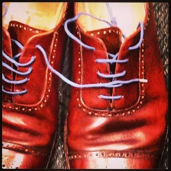 Old shoes, new laces  #fashion #mensfashion #johnlobb #shoes