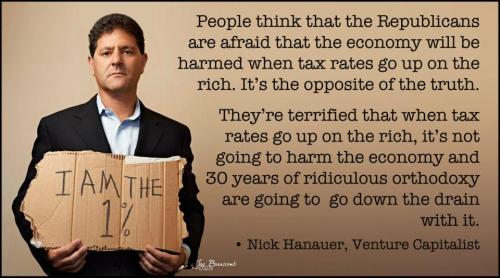 liberalsarecool:  30+ years of failed GOP trickle down tax policy needs to end.