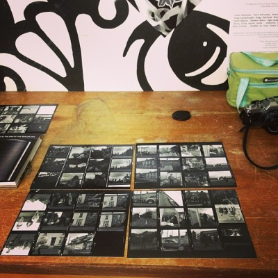 #darkroom making contact sheets http://bit.ly/YRaoge