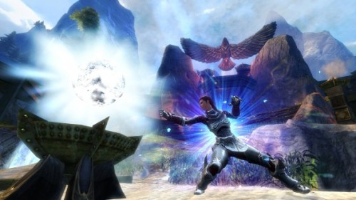 "ArenaNet details new PvP map coming to 'Guild Wars 2' (Photos)  In a news post published today, ArenaNet Game Designer Tyler Bearce explained the upcoming PvP map for ""Guild Wars 2."" The map is called Spirit Watch and it will release alongside the Flame and Frost update later this month."
