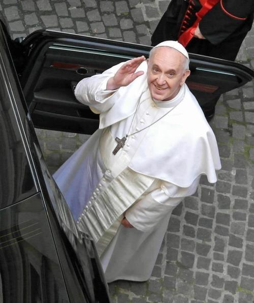 "joecatholic:  Pope Francis: ""There can be no dialogue with the prince of this world; let this be clear!"""