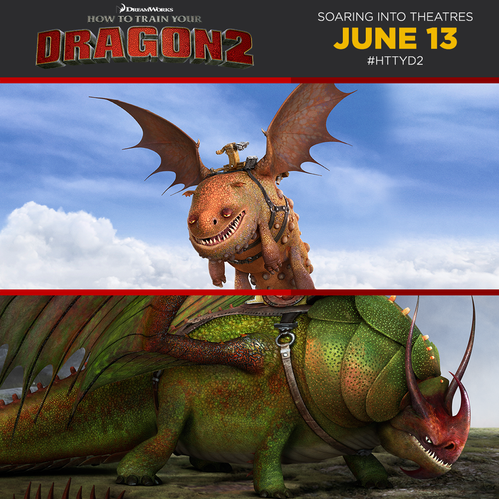 How To Train Your Dragon - Gobber's dragon, Grump, and ...