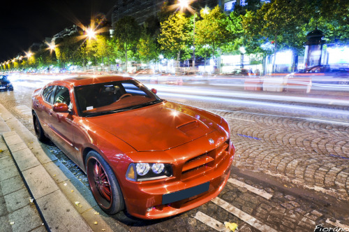 The Big Red Monster Starring: Dodge Charger (by Fiorano 2a | Guillaume E.)
