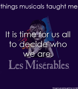 lessons from musicals