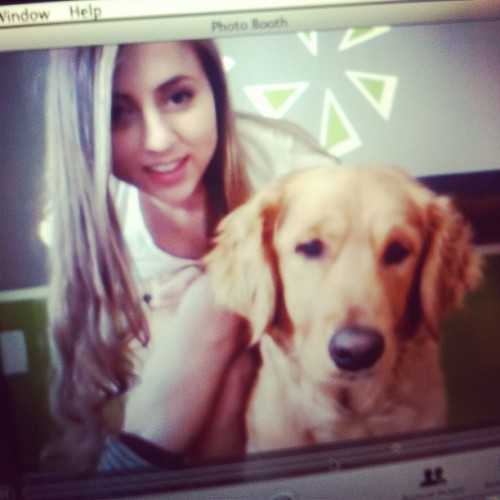 #flashback #2yearsago #rhiley #goldenretriever #selfie