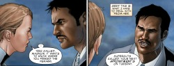 marvelentertainment:  MARVEL PANEL OF THE DAY From: Invincible Iron Man (2008) #4 The directors of S.H.I.E.L.D., ladies and gentlemen. (Source: marvel.com)