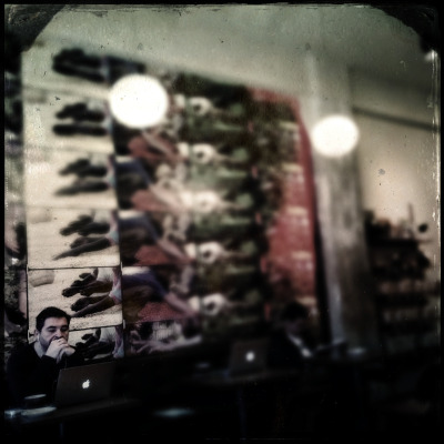Facial recognition: a neat new feature of Hipstamatic's Tinto 1884 Lens