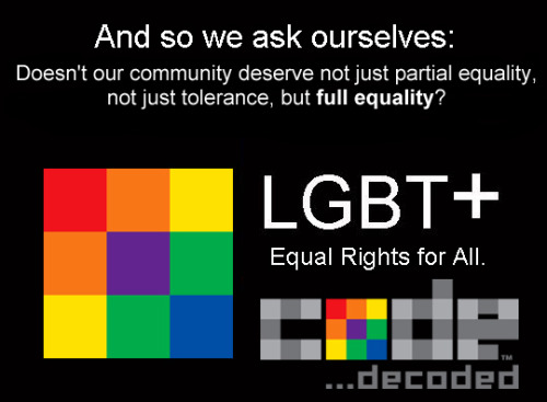 codedecoded:  Civil rights and marriage equality…If not now, WHEN?