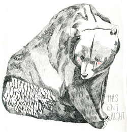 this isn't right bear by juliapott