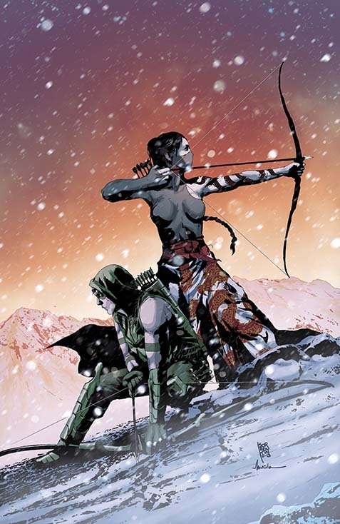 superheroes-or-whatever:  Green Arrow (2011-) #23 by Andrea Sorrentino