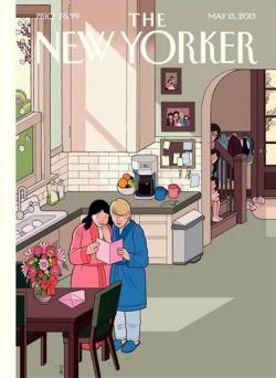 freecrackgiveaway:  The New Yorker's cover for Mother's Day features a lesbian couple.