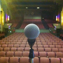 Sound check time! :D #JRB #modesto  (at State Theatre of Modesto)