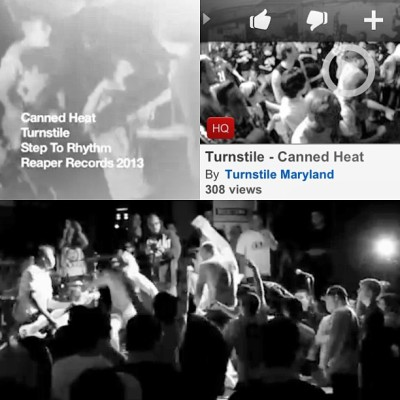 "You better go YouTube the new TURNSTILE video ""Canned Heat"" off of the forthcoming record #STEPTORHYTHM, for which you will bounce and slam. It's a baaaaaad sumbitch boyyyyyyy."