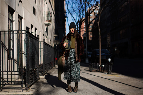 The Sartorialist: On the Street… Tenth St., New York