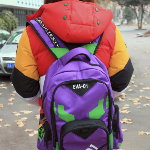 kittytwinklez:   EVA-01 Unit Backpack also Asuka's unit version is available $27.32  I might need this