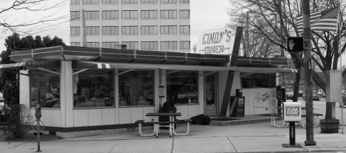 jgilruth:  Cindy's diner, Fort Wayne Indiana.