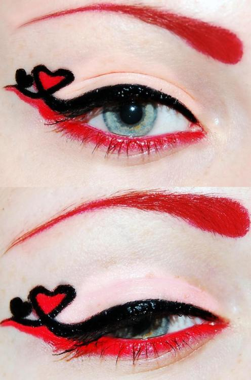 (via Valentine's day makeup for date)