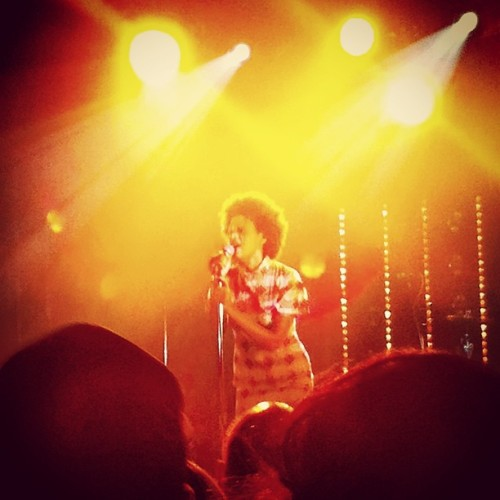 Solange doing that 80s-style funk.  #sxsw  #hypehotel