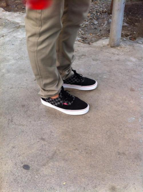 Vans Pewter Black