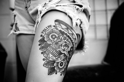 tattooplace:  10 Of the best white ink tattoo's! http://bit.ly/14KEWSr