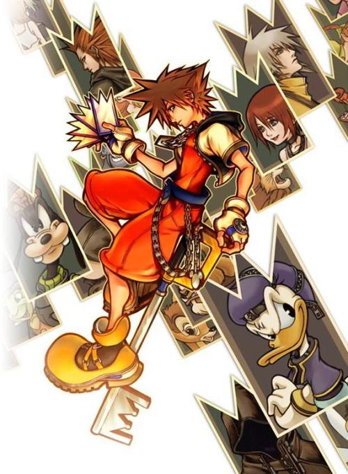 thebulkyvendor:  Kingdom Hearts: Chain of Memories Box Art 3/12