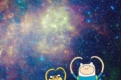 mademoiselle87:  Finn and Jake | via Facebook bei @weheartit.com – http://whrt.it/101PxSA