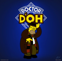 ✩ Maicon MCN - Doctor D'ohDisponível Aqui | Available here: redbubble.comCurta | Like: Facebook
