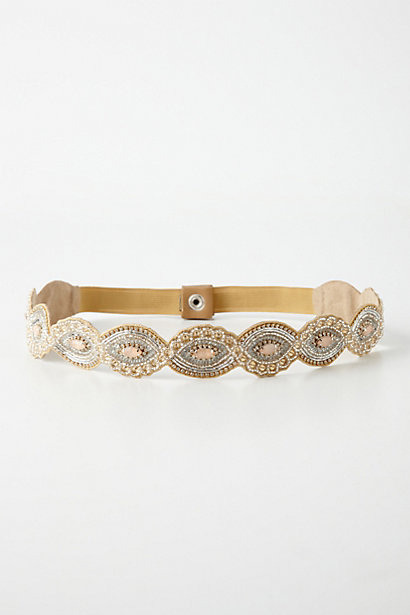 everlytrue:  [Infinite Glisten Belt by Anthropologie]