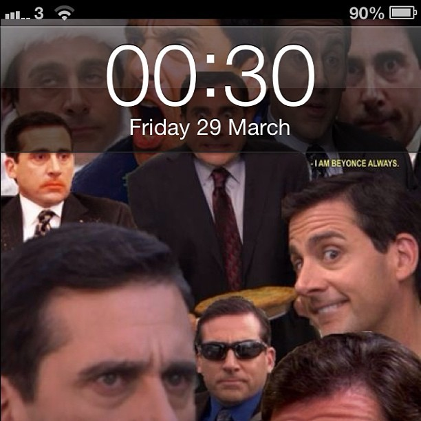 New phone background #michael #scott #theoffice #lol