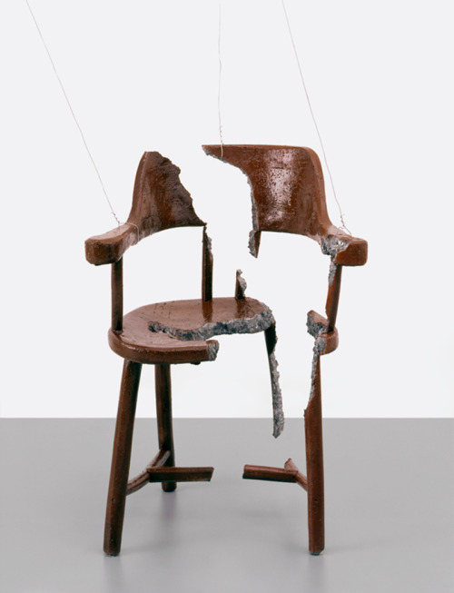 likeafieldmouse:  Urs Fischer - Chair for a Ghost (2003)