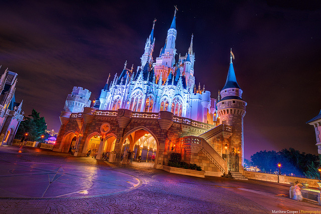 everydaydisneyfairytale:  Cinderella's Tilt-A-Castle by TheTimeTheSpace on Flickr.