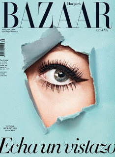 (via Glossy Newsstand: HARPER'S BAZAAR SPAIN APRIL 2013)
